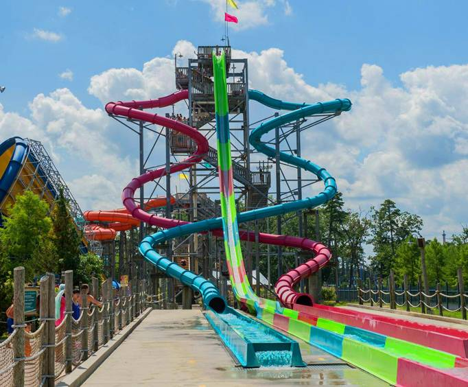 Six Flags-Hurricane Harbor