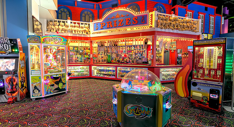 Boomtown Fun Center-Boomtown Casino Hotel