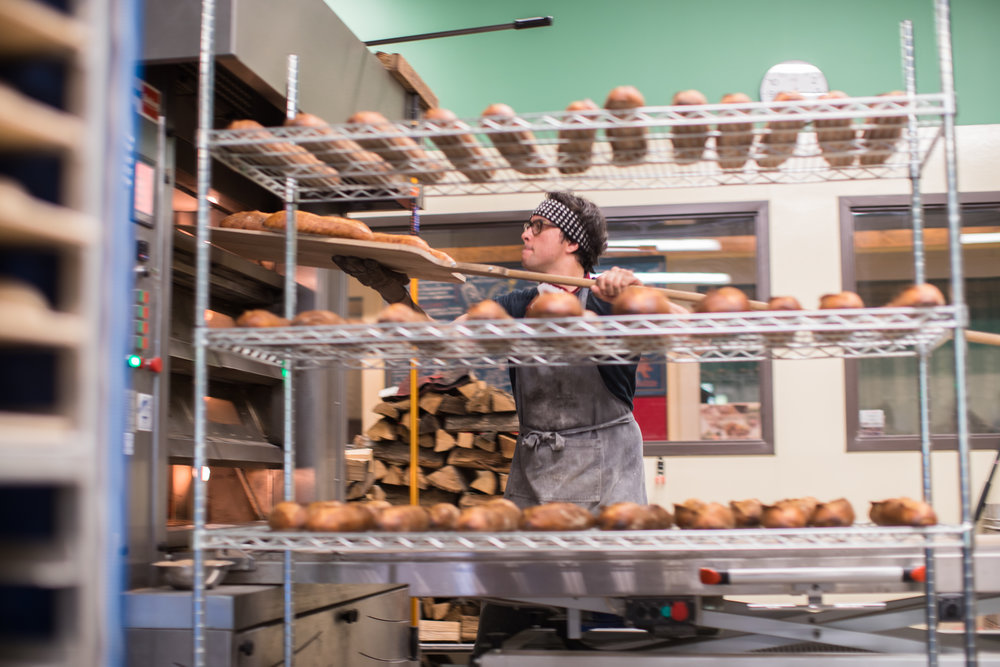 FOOD BUILDING - Originally a horse veterinary clinic dating back to 1900, FOOD BUILDING is now home to artisan producers Red Table Meat Co., Baker's Field Flour & Bread and Alemar Cheese. Stop in for a behind-the-scenes look at this urban food production facility.