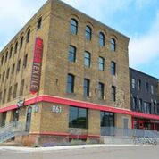 Miller Textile Building - Come tour this newly renovated historic building! Originally the headquarters of the Miller Bag company, who produced bags for the local milling and farming industries, the building has now been converted to office and retail space.