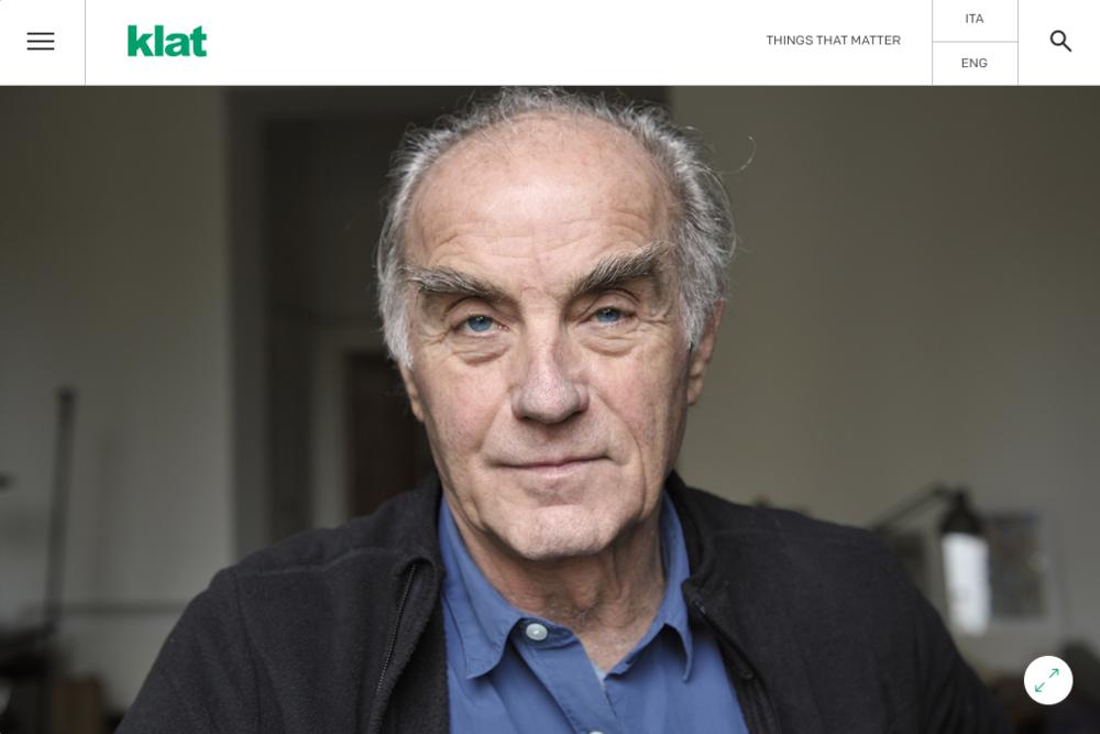 Paolo Rosselli for Klat Magazine