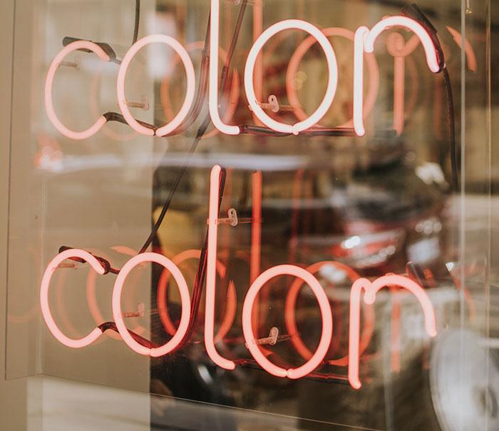 salon color scheme