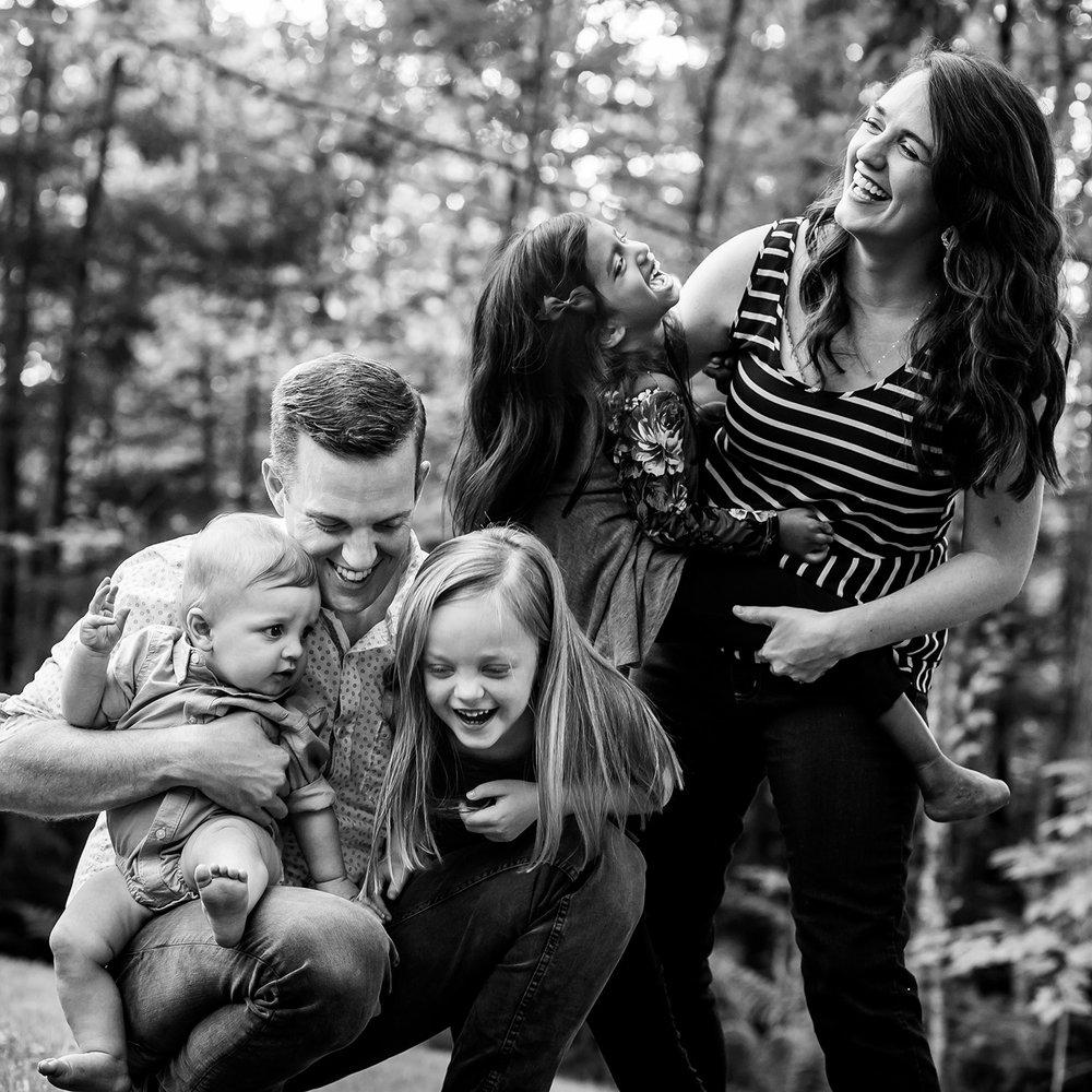 from left: Simon, Robby, Meg, Eden & Jess Followell