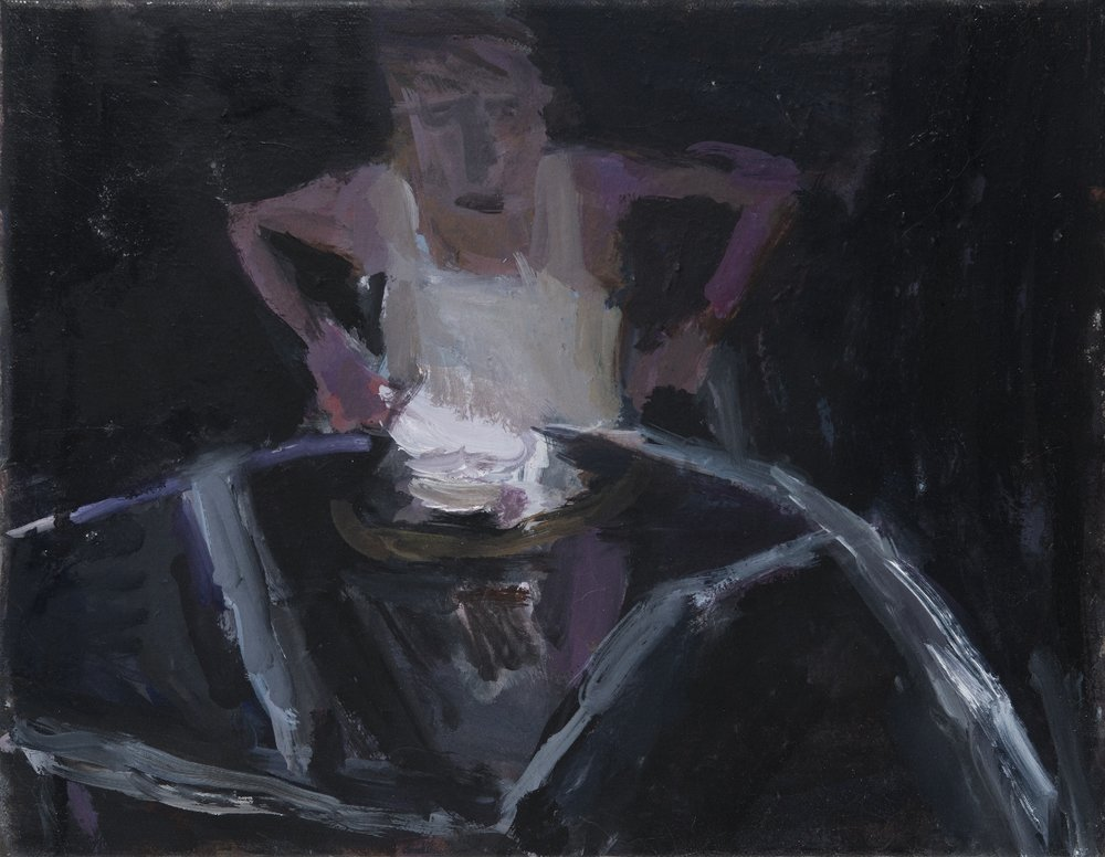Man at a Table