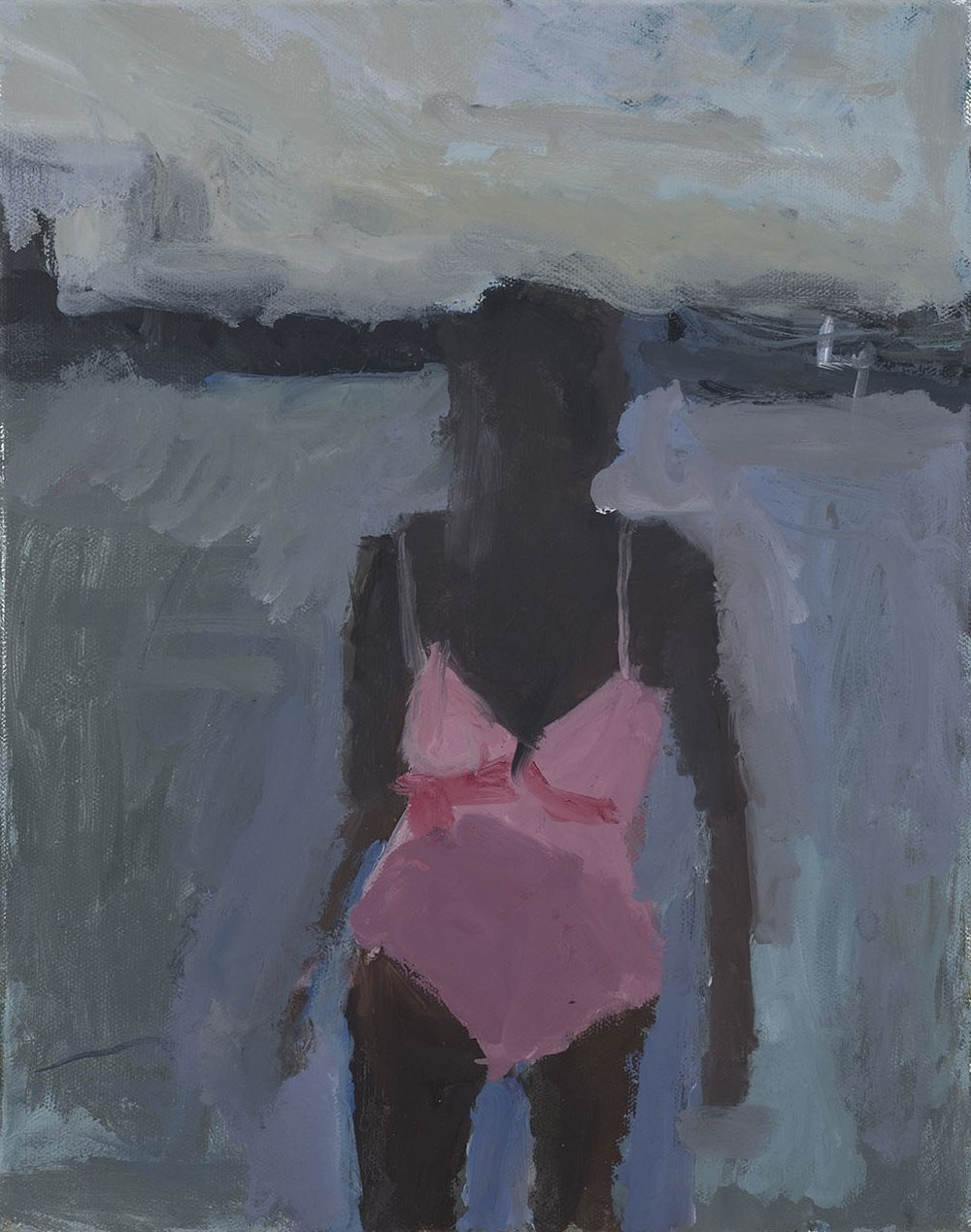 Pink Bathing Suit II