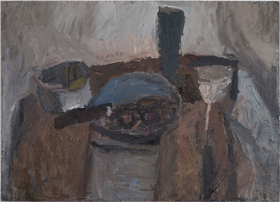 Still Life with Brown Cloth