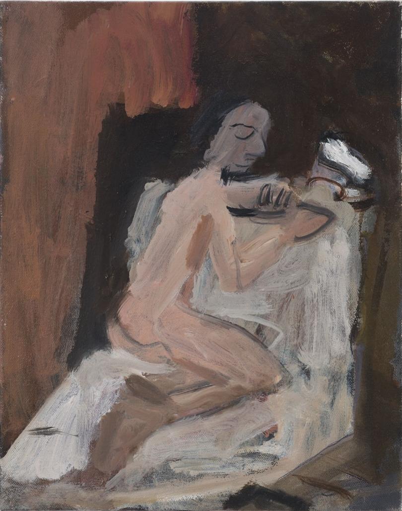 Woman Holding a Bird