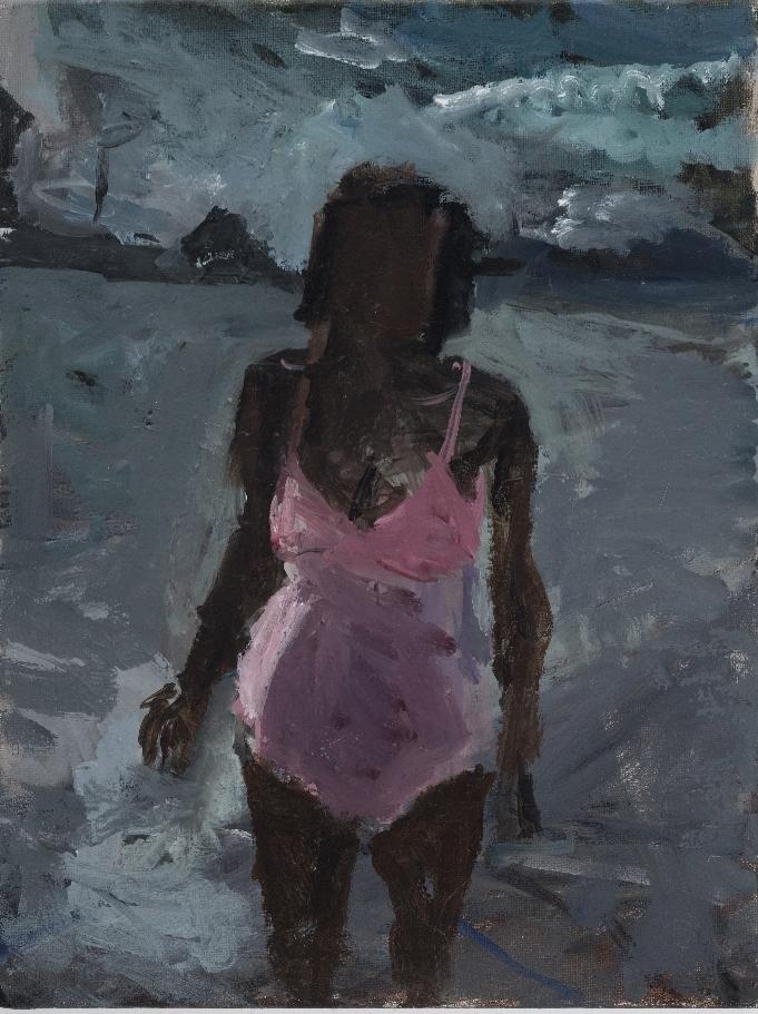 Pink Bathing Suit I