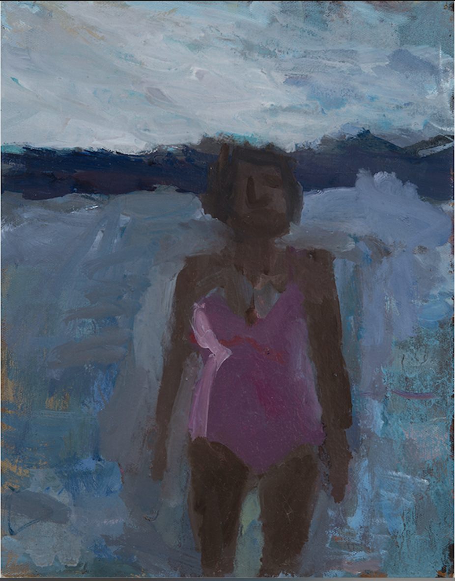 Pink Bathing Suit IV