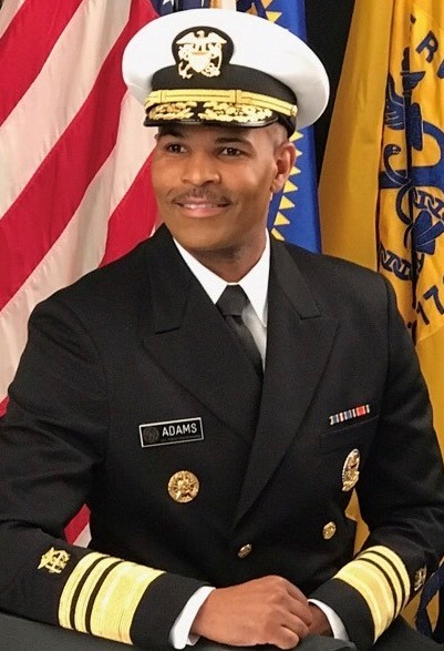 biography of the US Surgeon general - Vice Admiral Jerome M. Adams, MD, MPH