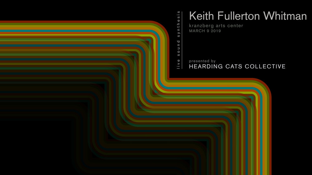 Keith Fullerton Whitman03.09.2019 - Special quadraphonic performance