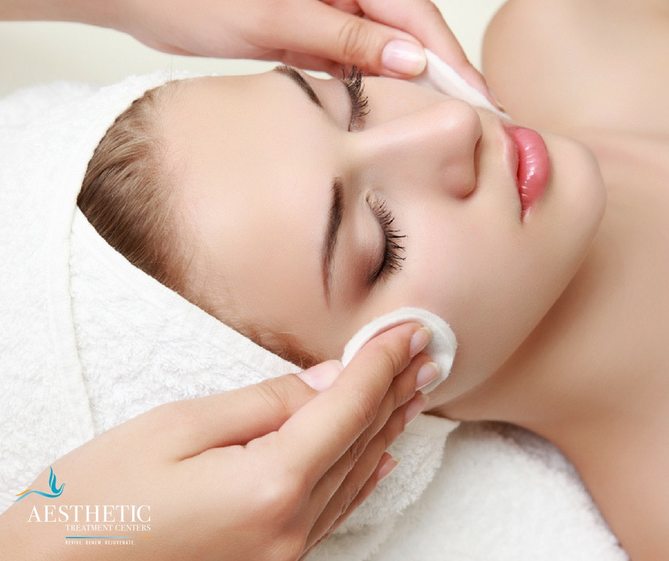 relax and renew with a luxury medical facial
