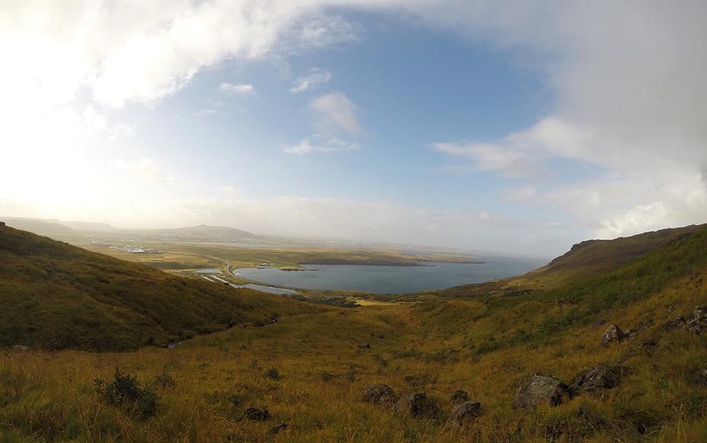 Reykjavik from Mount Esja