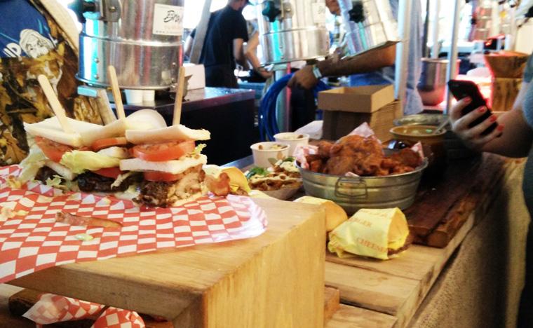 Osheaga - Dinner Section