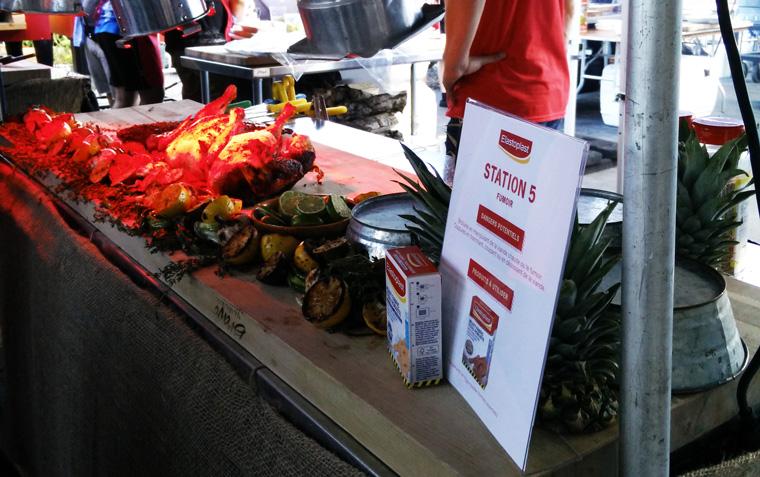Osheaga - Meat Station
