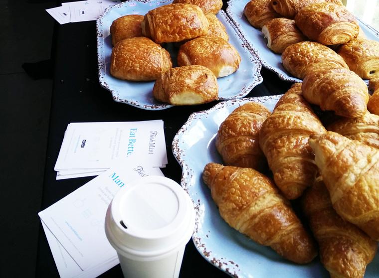 StartupFest - FreshMint breakfast