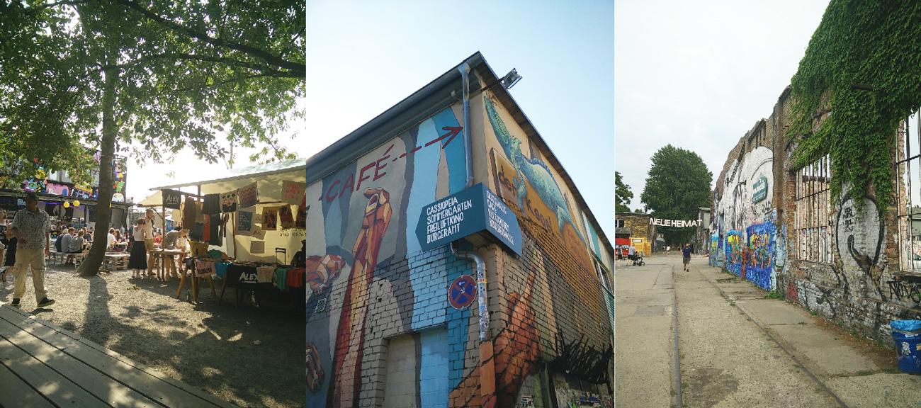 Berlin - Walk and party around Warschauer