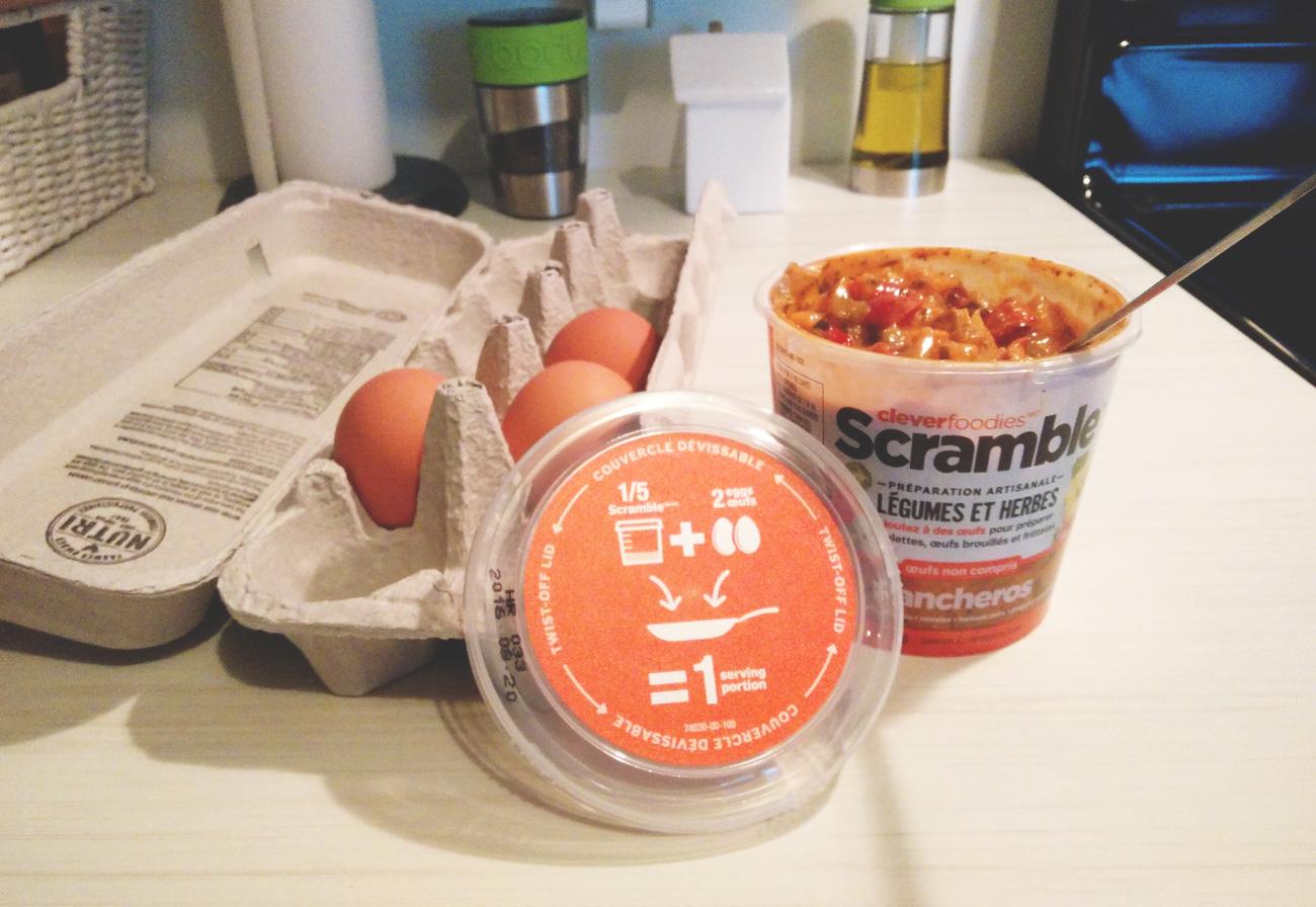 Scramble - Cooking breakfast