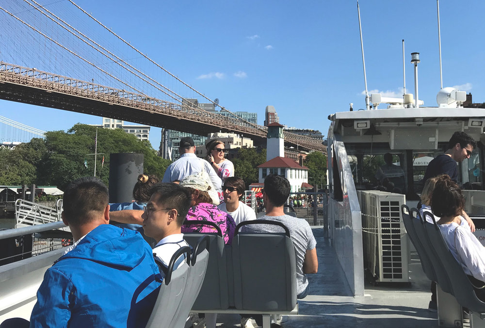 Montreal State - NYC Ferry