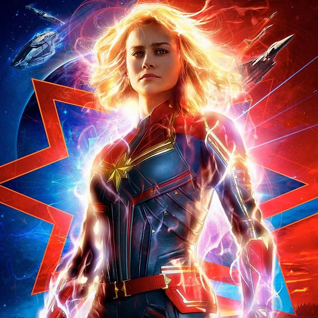 Has anyone here seen #CaptainMarvel yet? 🎬🍿Let me know your thoughts on the #new #marvel movie if you go this weekend!!!