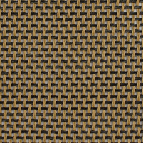 Black and Tan grill cloth