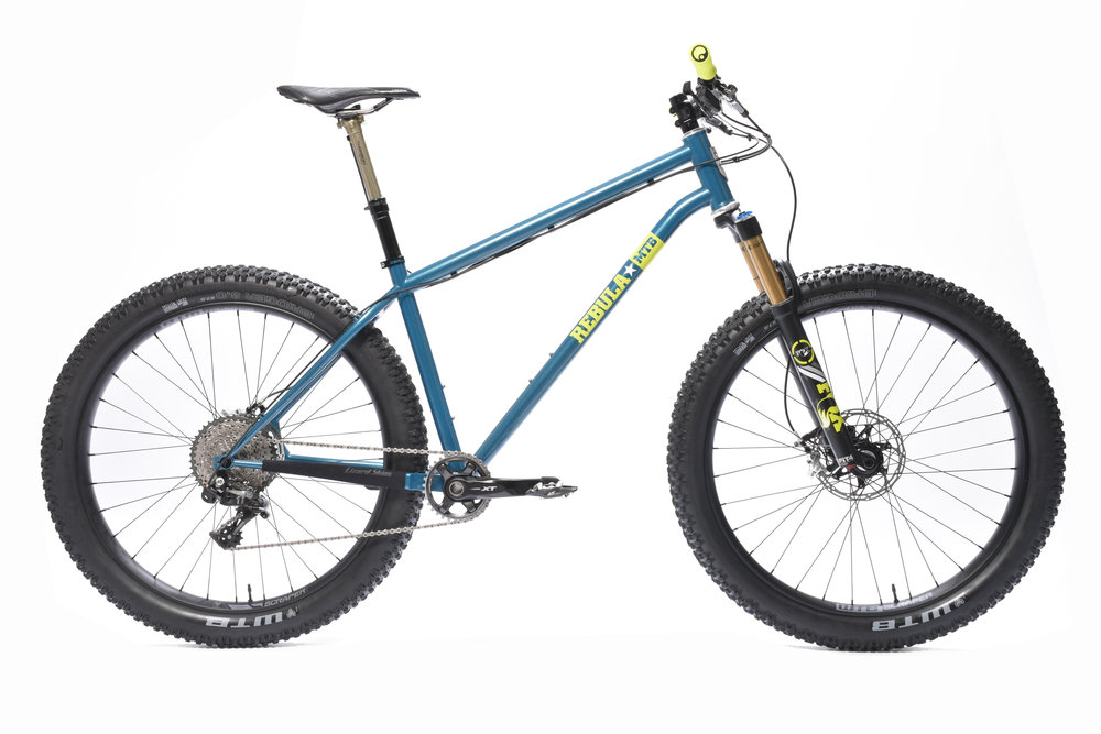 "GOSHAWK 120 - Big mountain fun27.5"" x 2.8"" Tires120mm Suspension Travel67 Degree Head Angle50mm Stem Length"