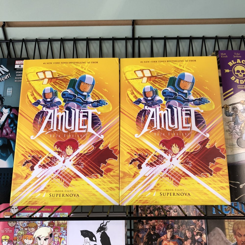 AMULET V8 - Finally! Amulet continues. Great kids series.
