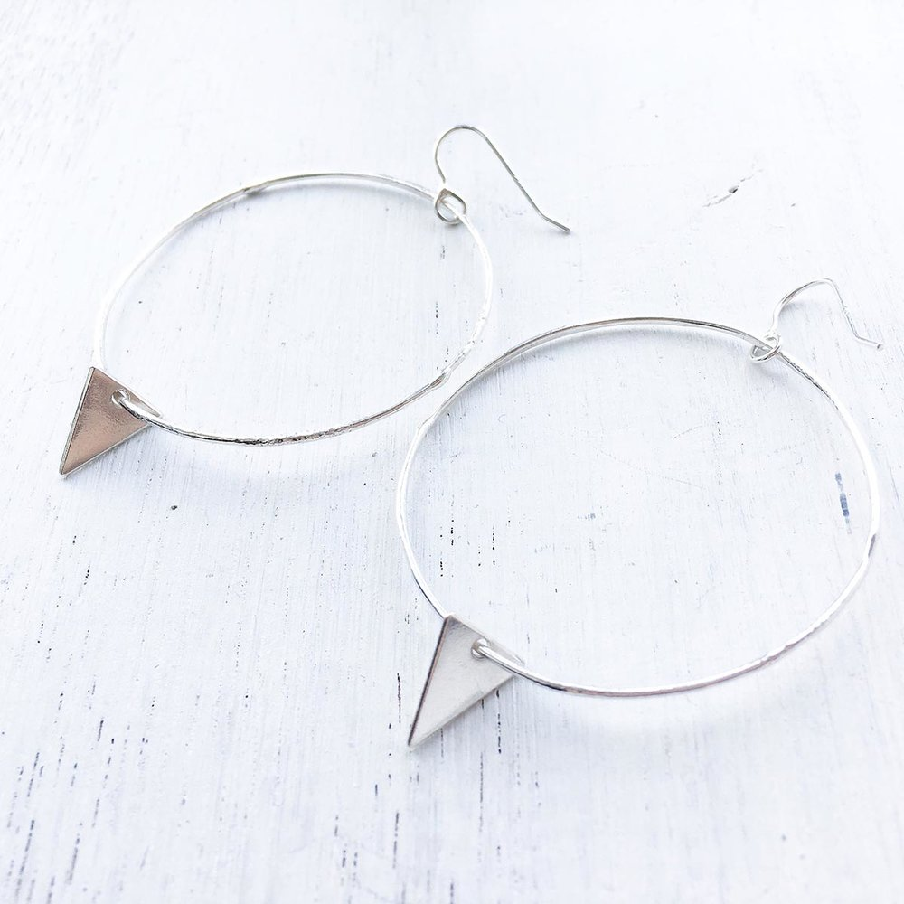 Big Boho Hoops    – My big boho hoops have a rustic bohemian edge, taking you from day time beach babe to evening goddess.