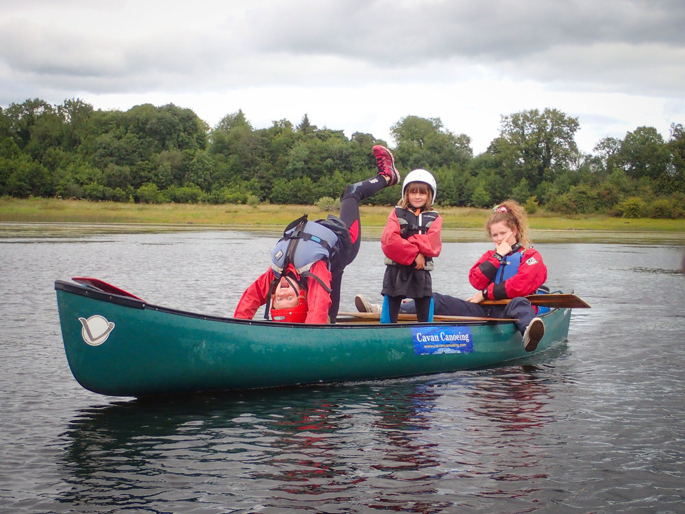Small Families - For families of up to 2 adults and 3 children looking to go out exploring and maybe some splashing around too :)Includes 2 activities; Kayaking or Canoeing + Pontoon jumping or SUP boarding.PRICE (2 adults + 2-3 children) = €120+ (Optional) Instructor Guide : + €80DURATION: 2.5 hours