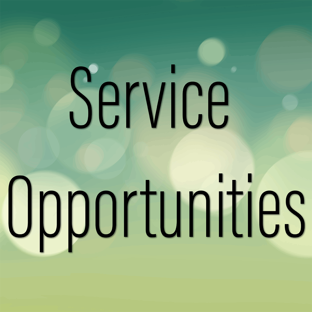 Service Opportunities - Interested in Serving with One of Our Ministries?