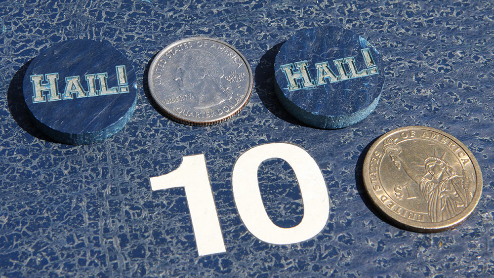 One-Inch Michigan Stadium Token
