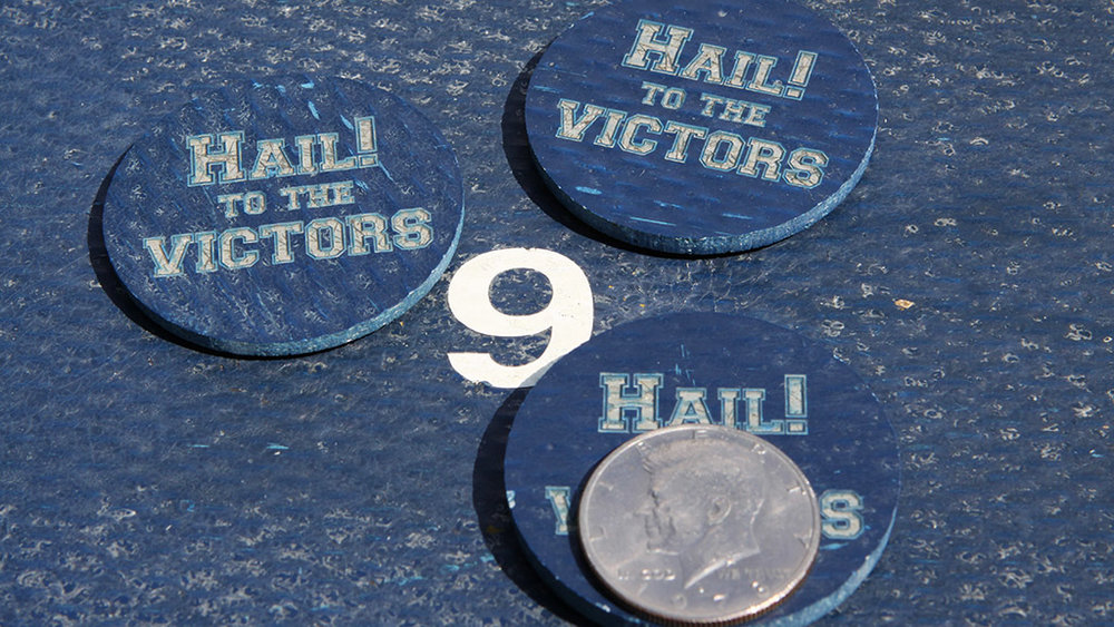 Two-Inch Michigan Stadium Token