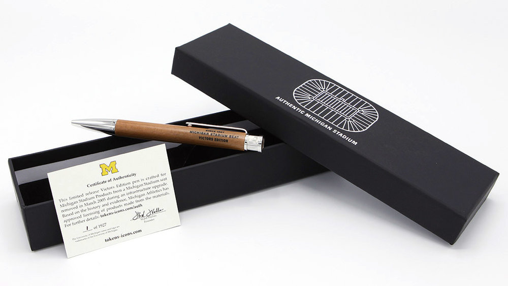 Click image to see more photos of the VICTORS EDITION pen