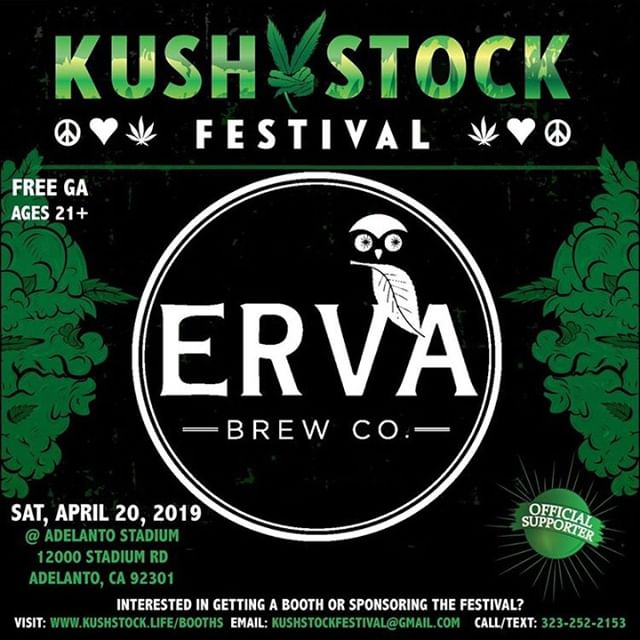 The countdown to #kushstockfestival is ON ! 🍹💚✨ can't wait to see you there! 🤗⠀⠀⠀⠀⠀⠀⠀⠀⠀ ⠀⠀⠀⠀⠀⠀⠀⠀⠀ #Repost @kushstockfestival⠀⠀⠀⠀⠀⠀⠀⠀⠀ ・・・⠀⠀⠀⠀⠀⠀⠀⠀⠀ Who's ready? @drinkerva will be at #KushstockFestival 7⠀⠀⠀⠀⠀⠀⠀⠀⠀ Saturday, April 20th⠀⠀⠀⠀⠀⠀⠀⠀⠀ @adelantostadium .⠀⠀⠀⠀⠀⠀⠀⠀⠀ FREE ADMISSION⠀⠀⠀⠀⠀⠀⠀⠀⠀ VIP by the amazing @medicatedbarbies⠀⠀⠀⠀⠀⠀⠀⠀⠀ ANYONE AGES 21+ can get in no paperwork needed just bring Valid Photo ID.⠀⠀⠀⠀⠀⠀⠀⠀⠀ .⠀⠀⠀⠀⠀⠀⠀⠀⠀ Performances by⠀⠀⠀⠀⠀⠀⠀⠀⠀ @tooshort⠀⠀⠀⠀⠀⠀⠀⠀⠀ @babybash⠀⠀⠀⠀⠀⠀⠀⠀⠀ @techimmortal⠀⠀⠀⠀⠀⠀⠀⠀⠀ @theluniz⠀⠀⠀⠀⠀⠀⠀⠀⠀ @comptonmenace⠀⠀⠀⠀⠀⠀⠀⠀⠀ .⠀⠀⠀⠀⠀⠀⠀⠀⠀ Register for FREE GA tickets or purchase VIP tickets at: www.Kushstock.Life/tickets⠀⠀⠀⠀⠀⠀⠀⠀⠀ ⠀⠀⠀⠀⠀⠀⠀⠀⠀ #drinkmoremate #drinkerva #mate #weloveourcommunity #kindnessisbadass #kushstock #kushstockmi #medicatedbarbies #420 #cali