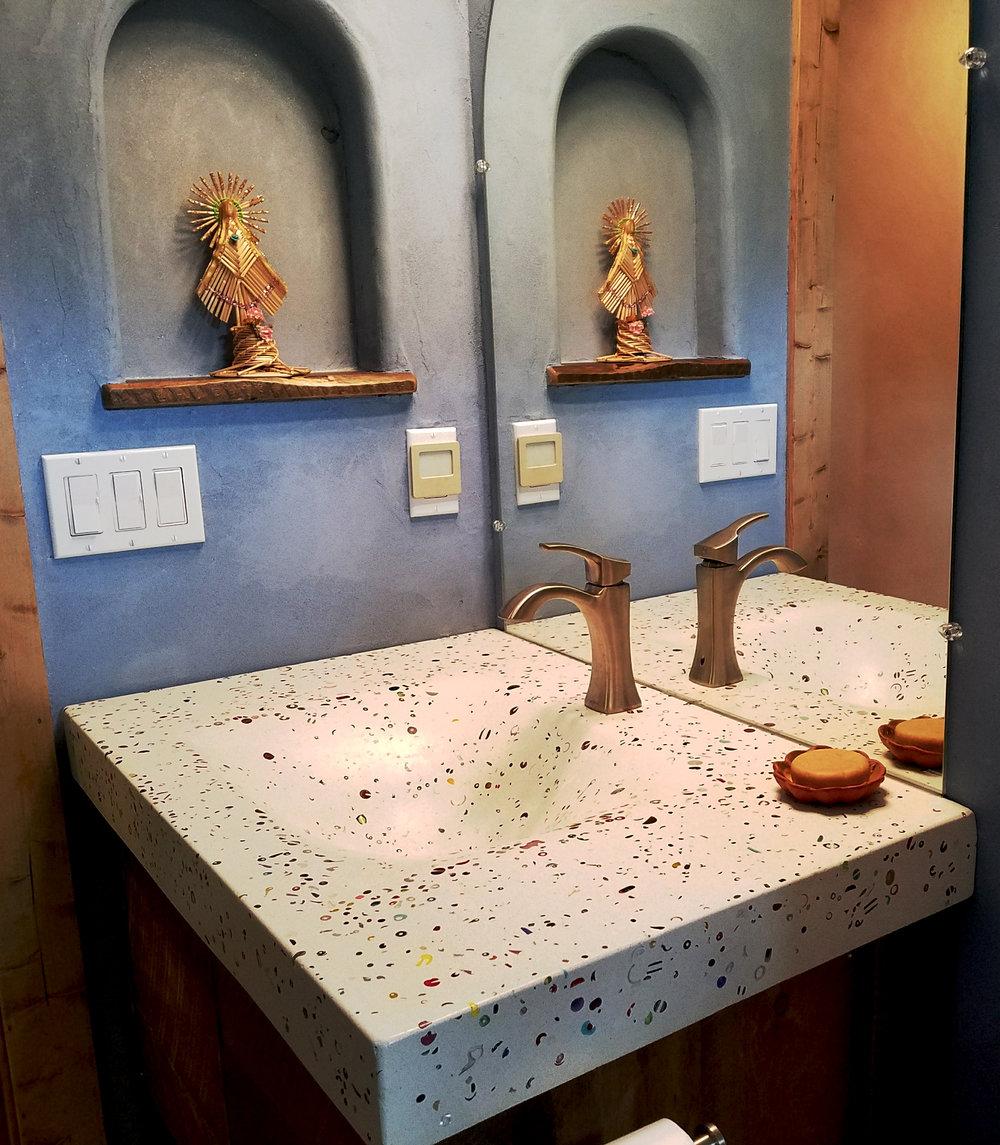 Flex Form Concrete Sink with Handmade Glass Beads.jpg