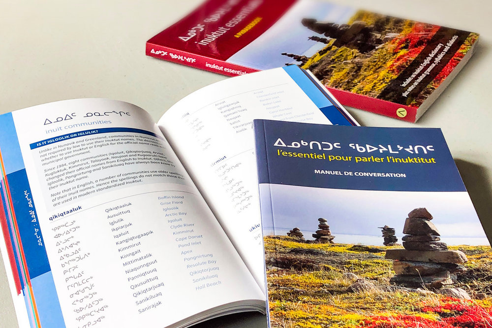 Inuktut phrasebooks -
