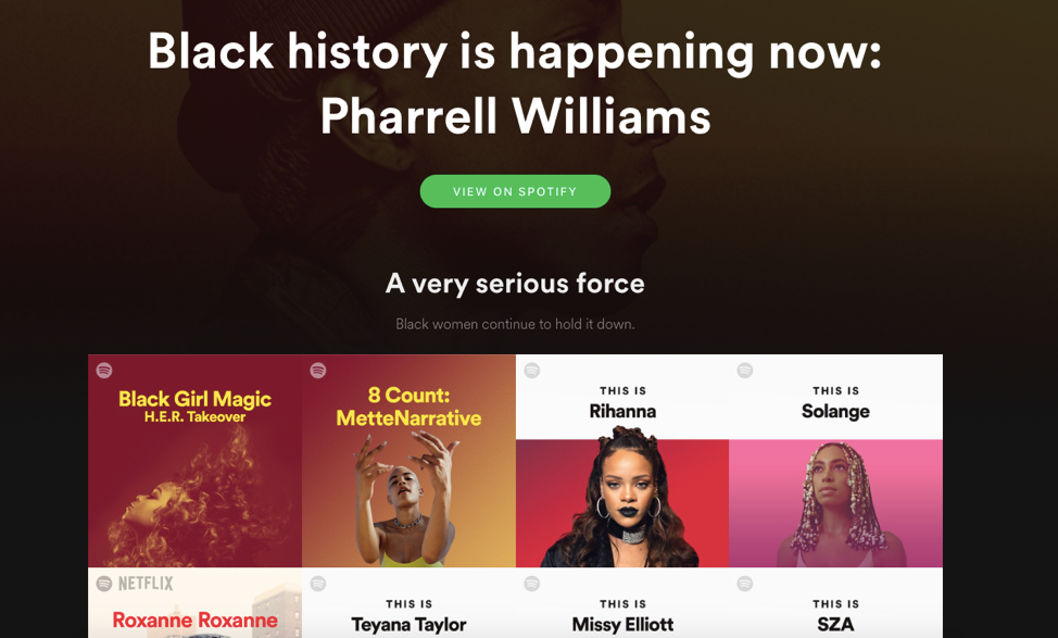 Black History Is Happening Now, Spotify.png