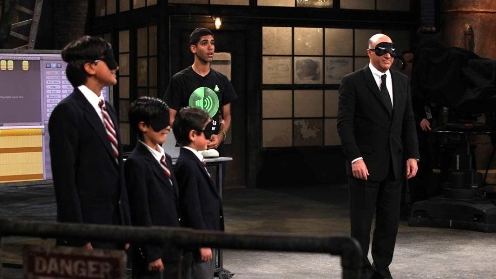 THEN: Aanikh, age 14, on CBC's Dragons' Den (similar to U.S. show Shark Tank).