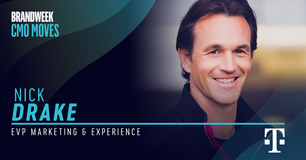 Nick Drake, EVP of Marketing & Experience of T-Mobile