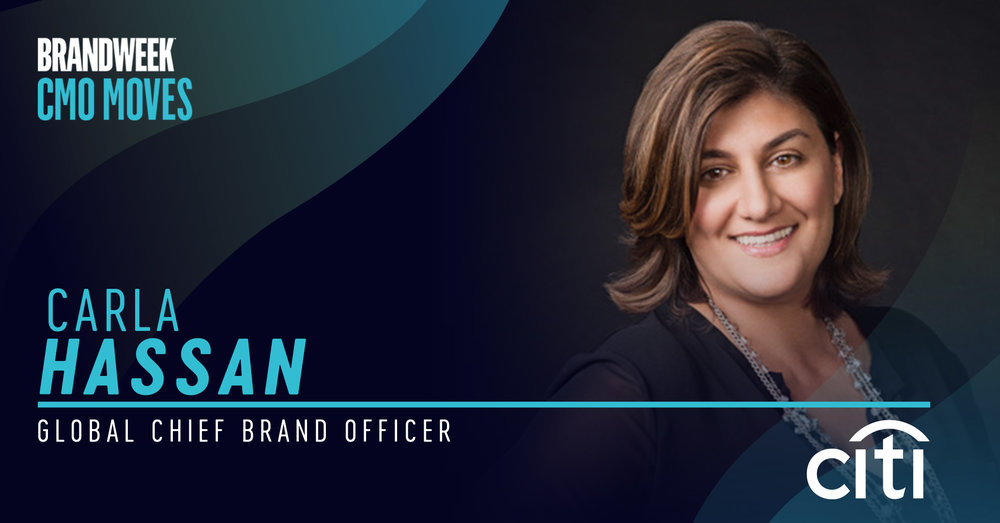 Carla Hassan, Global Chief Brand Officer of Citi