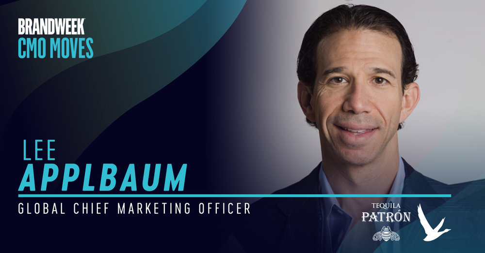 Lee Applbaum, Global CMO of Patron Tequila and Grey Goose Vodka