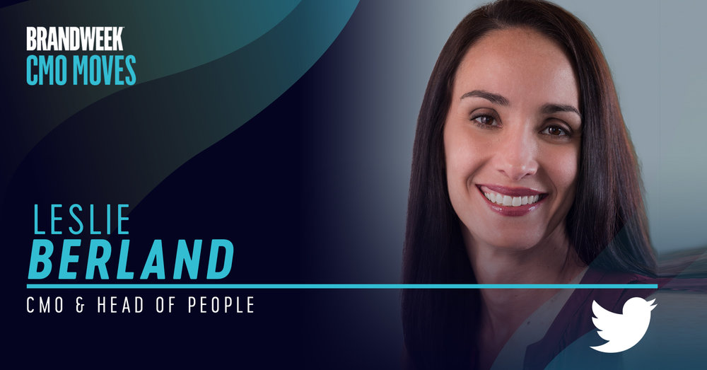 Leslie Berland, CMO and Head of People of Twitter