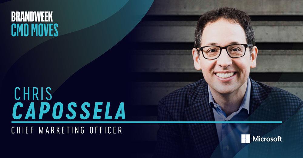 Chris Capossela, CMO of Microsoft