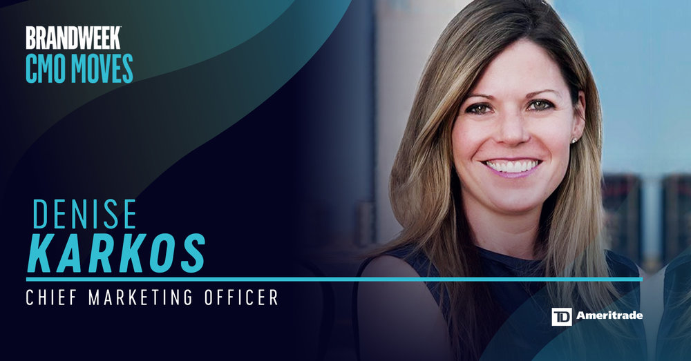 Denise Karkos, CMO of TD Ameritrade