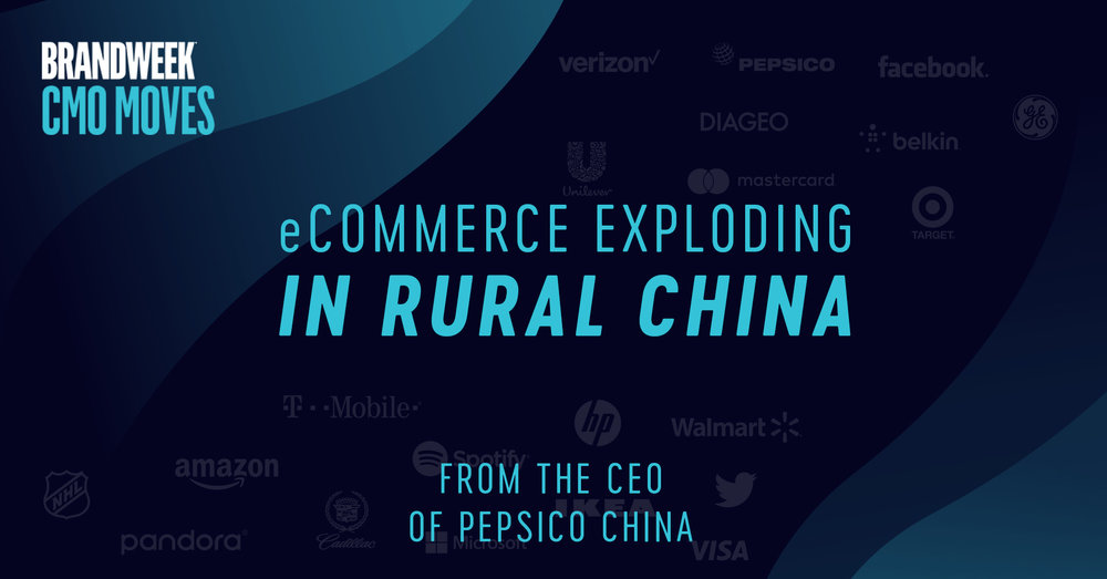 eCommerce Exploding in Rural China from CEO of PepsiCo China