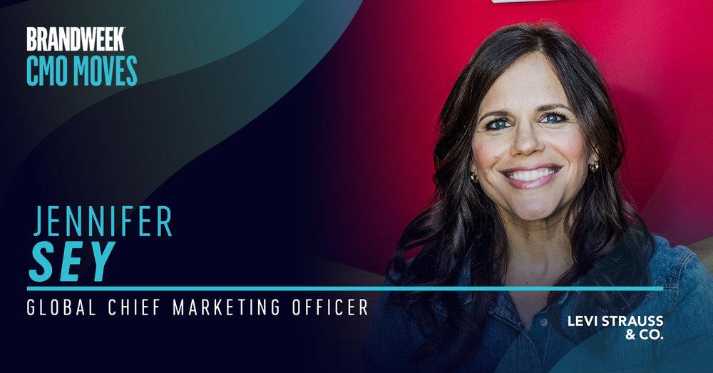 Jennifer Sey, Global CMO of Levi Strauss & Co.