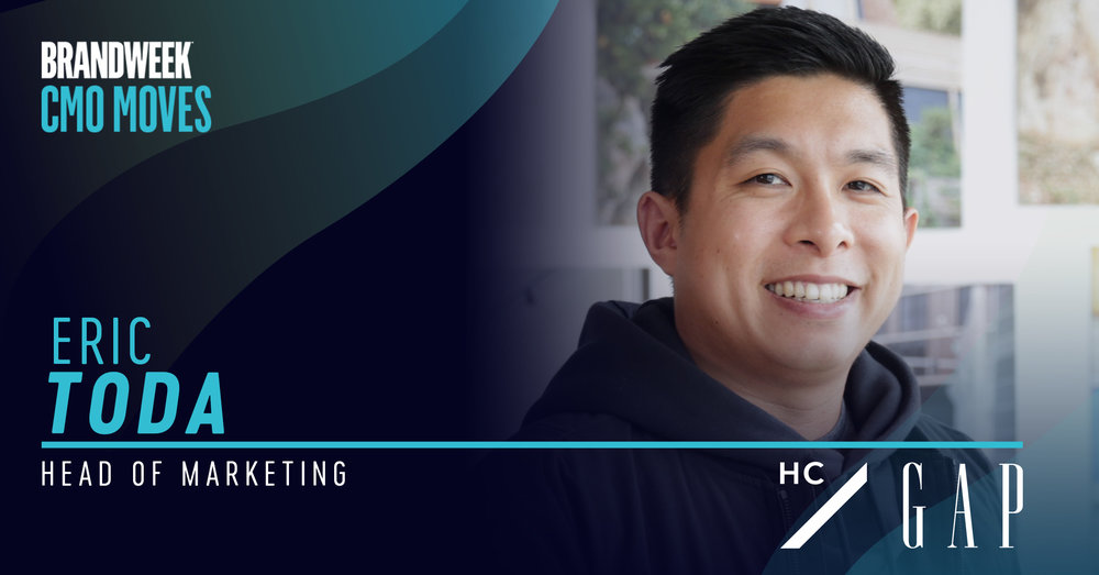 Eric Toda, Head of Marketing at Hill City, the newest brand from Gap Inc.