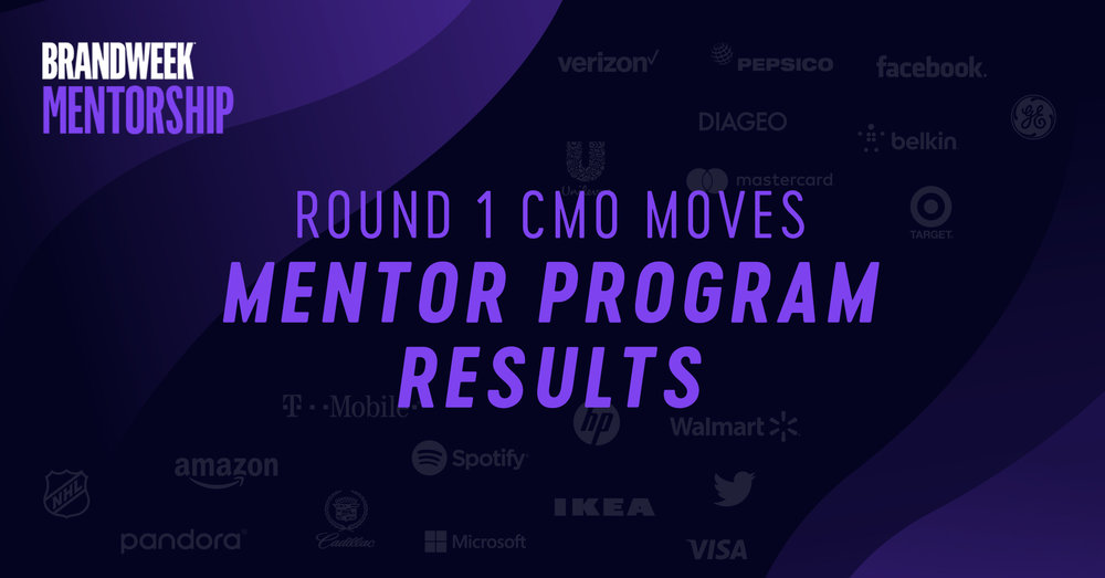 Round 1 CMO Moves Mentor Program Results