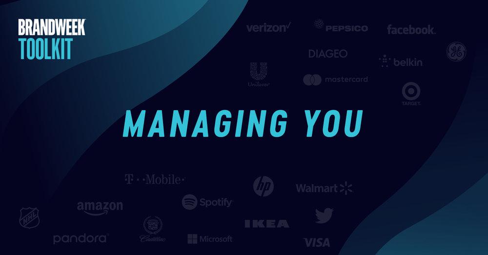 Managing You - Marketing Toolkit