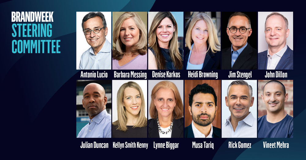 Guided by the Marketing Chiefs of Airbnb, Denny's, Facebook, Hilton, NFL, NHL, Target, TD Ameritrade, Visa, Walmart, Walgreens and The Jim Stengel Group